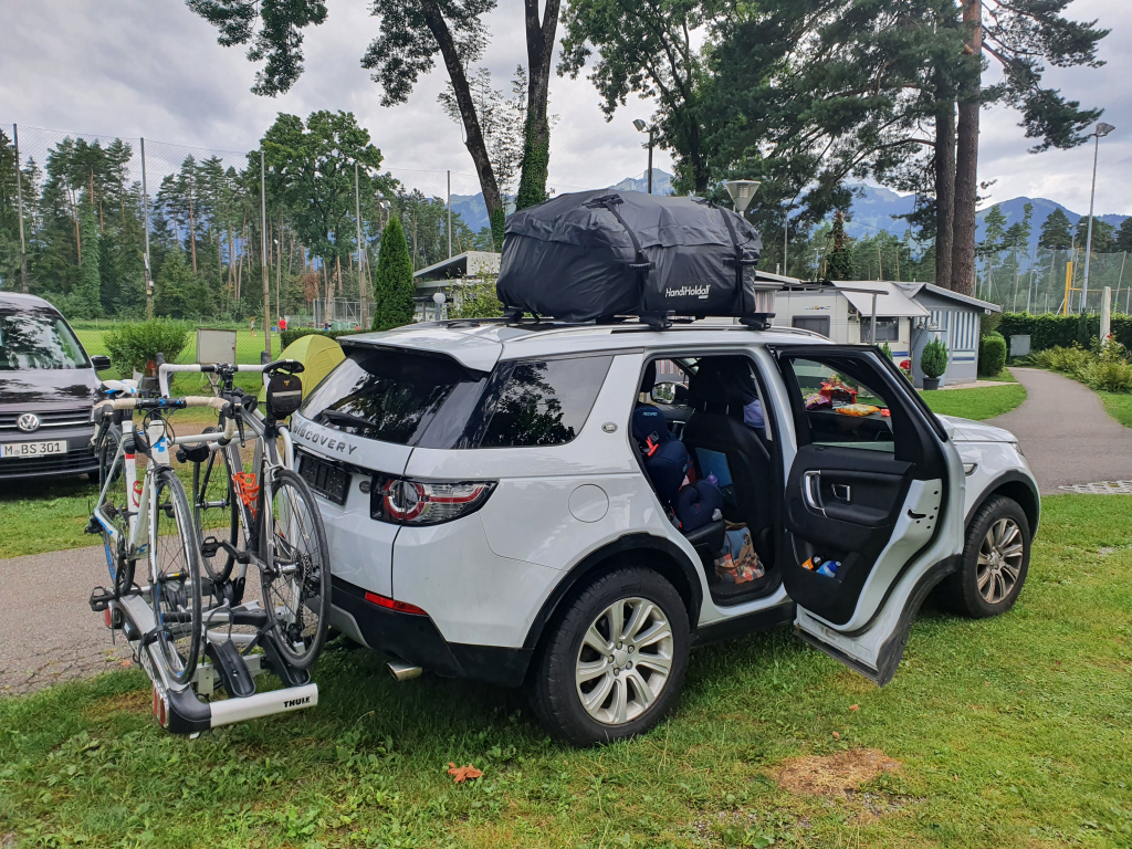 Family camping trip to Feldkirch in Austria